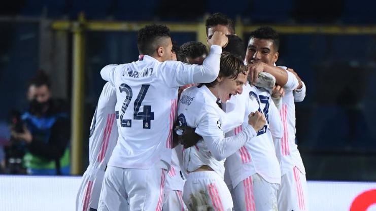 欧冠综合:皇马小胜10人亚特兰大 曼城2:0击败德甲的门兴格拉德巴赫