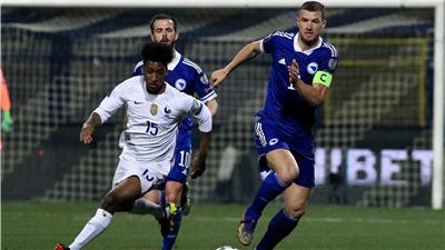 世界杯预选赛:波黑队一球负于法国队 积1分暂列第4