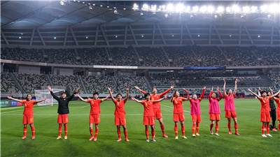 中国女足获得亚洲区最后一张东京奥运会女足门票