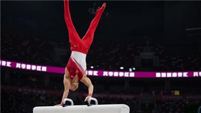 肖若腾以总成绩174.131分重获全国体操锦标赛男子全能冠军