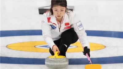 女子冰壶世锦赛:中国队小胜意大利队 结束近日来的连败