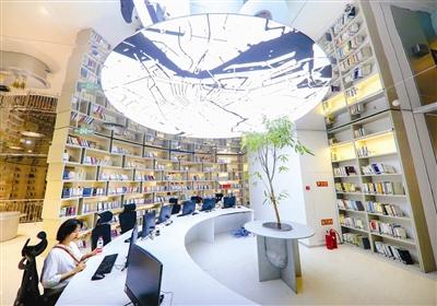津灣廣場全新升級亮相 5萬余冊圖書免費借閱