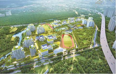 深圳市四所高中园之一的坪山高中园项目正式开建 可添8100学位