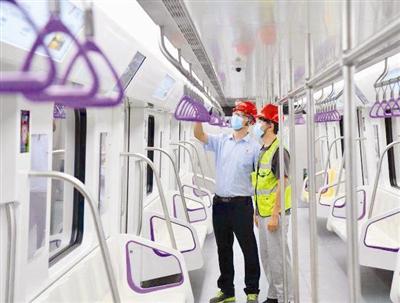 天津市地铁6号线二期工程现已进入空载试运行阶段