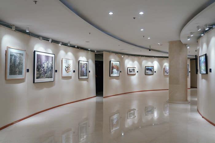 """80件多种艺术形式作品亮相""""青海少数民族青年美术作品展"""""""