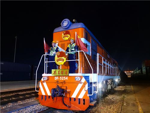 今年前九个月中欧班列(武汉)已发出130列返程180列